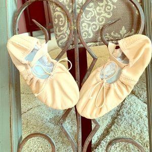 Bloch Child ballet shoes, size 12A